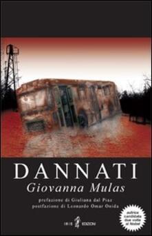 Dannati - Giovanna Mulas - copertina
