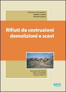 Rifiuti da costruzioni, demolizioni e scavi