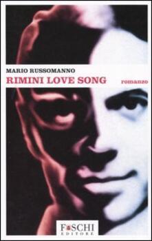 Rimini love song - Mario Russomanno - copertina