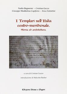 I templari nell'Italia centro-meridionale - copertina