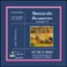Decamerone. Antologia. Audiolibro. CD Audio. Vol. 1 - Giovanni Boccaccio - copertina