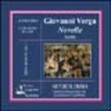 Novelle scelte. Audiolibro. CD Audio - Giovanni Verga - copertina