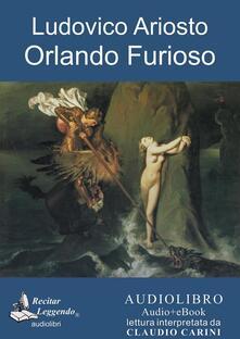 Orlando furioso. Audiolibro. CD Audio formato MP3 - Ludovico Ariosto - copertina