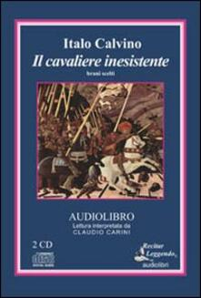 Il cavaliere inesistente. Brani scelti. Audiolibro. 2 CD Audio - Italo Calvino - copertina