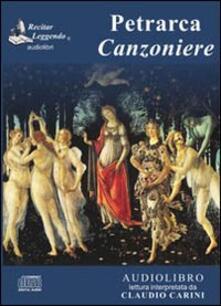 Canzoniere. Audiolibro. CD Audio - Francesco Petrarca - copertina