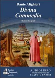 La Divina Commedia. Audiolibro. CD Audio formato MP3. Ediz. integrale - Dante Alighieri - copertina