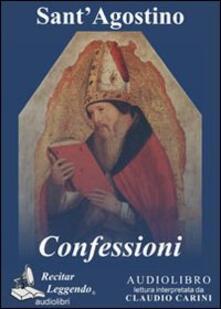 Le confessioni. Audiolibro. CD Audio formato MP3. Ediz. integrale - Agostino (sant') - copertina