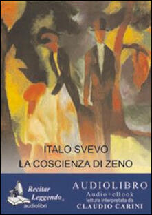 La coscienza di Zeno. Audiolibro. CD Audio formato MP3. Ediz. integrale - Italo Svevo - copertina