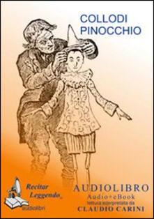 Le avventure di Pinocchio. Audiolibro. CD Audio formato MP3. Ediz. integrale - Carlo Collodi - copertina