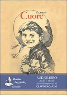 Premioquesti.it Cuore. Audiolibro. CD Audio formato MP3 Image
