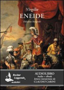 Eneide. Audiolibro. CD Audio formato MP3 - Publio Virgilio Marone - copertina