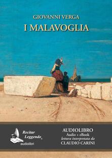 I Malavoglia. Audiolibro. CD Audio formato MP3 - Giovanni Verga - copertina