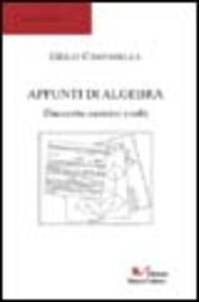 Appunti di algebra 1. 200 esercizi svolti - Giulio Campanella - copertina