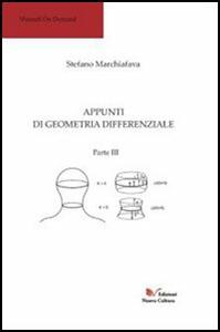 Appunti di geometria differenziale. Parte III. Vol. 3