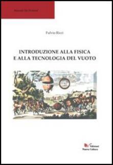 Introduzione alla fisica - Flavio Ricci - copertina