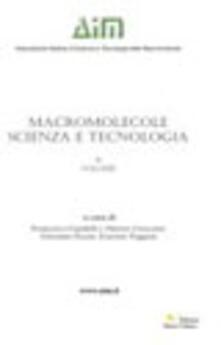 Macromolecole. Scienza e tecnologia. Vol. 2 - copertina