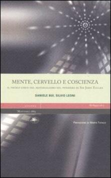 Mente, cervello e coscienza. Il vicolo cieco del materialismo nel pensiero di Sir John Eccles.pdf