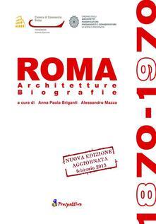Promoartpalermo.it Roma 1870-1970. Architetture biografie Image