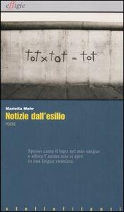 Libro Notizie dall'esilio-Nachrichten aus dem Exil-Nevipe andar o exilo Mariella Mehr