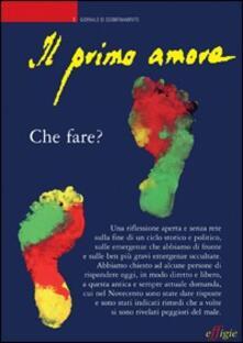 Premioquesti.it Il primo amore. Vol. 5: Che fare?. Image