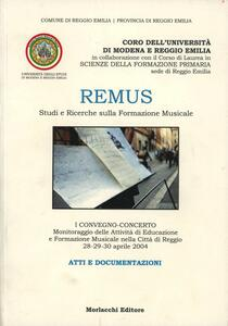 Remus. Studi e ricerche sulla formazione musicale