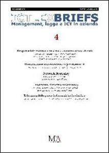 IctLexBriefs. Vol. 4: Management, legge e ICT in azienda.