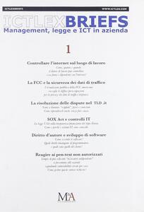 IctLexBriefs. Vol. 1