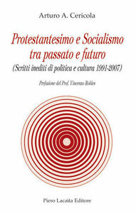 Protestantesimo e socialismo passato