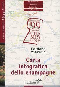 Carta infografica dello Champagne