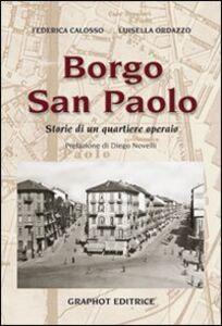 Borgo san Paolo. Storie di un quartiere operaio