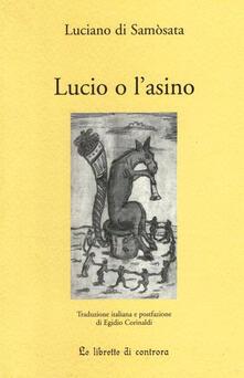 Lucio o l'asino - Luciano di Samosata - copertina
