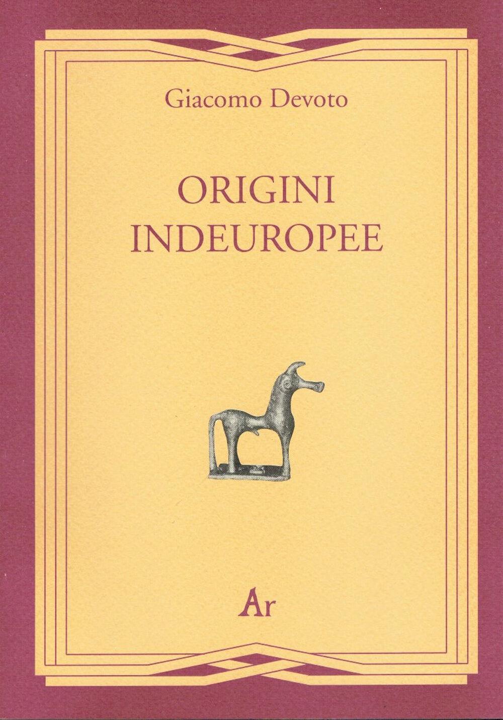 Origini indeuropee
