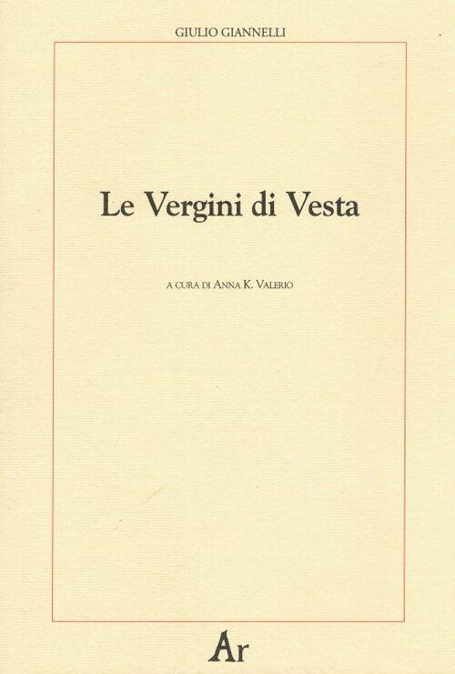 Le vergini di Vesta