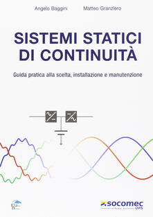 Vitalitart.it Sistemi statici di continuità. Guida pratica alla scelta, installazione e manutenzione Image