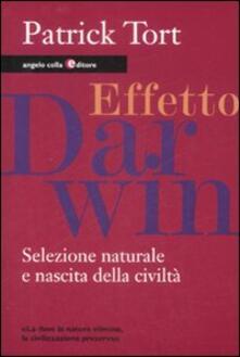 Effetto Darwin. Selezione naturale e nascita della civiltà.pdf