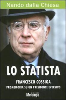 Steamcon.it Lo statista Francesco Cossiga. Promemoria su un presidente eversivo Image