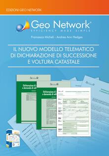 Ristorantezintonio.it Il nuovo modello telematico di dichiarazione di successione e voltura catastale. Con software Image