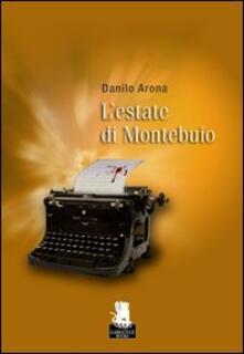 L' estate di Montebuio - Danilo Arona - copertina
