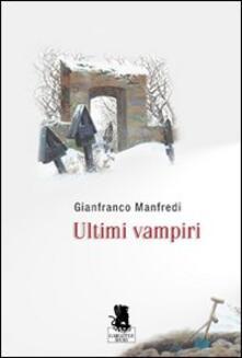 Ultimi vampiri - Gianfranco Manfredi - copertina