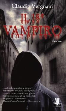 Il 18° vampiro - Claudio Vergnani - copertina