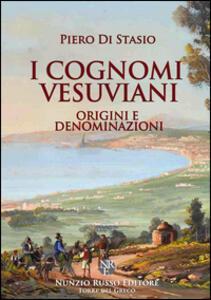 I cognomi vesuviani. Origini e denominazioni