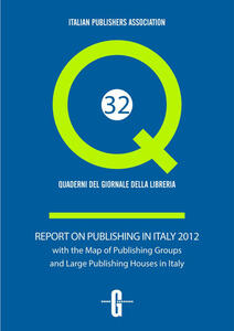 Report of publishing in Italy with the map of publishing groups and large publishing houses in Italy