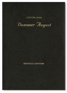 Dummer August - Günter Grass - copertina