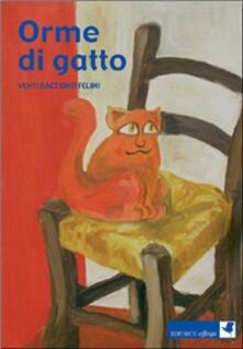 Orme di gatto. Venti racconti felini - copertina