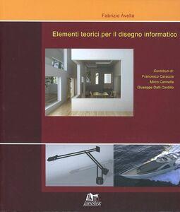 Elementi teorici per il disegno informatico
