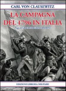 La Campagna del 1796 in Italia - Karl von Clausewitz - copertina
