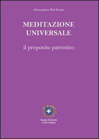 Meditazione universale. Il proposito patristico