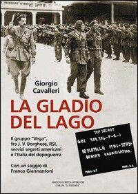 La Gladio del lago. Il gruppo «Vega» fra T. V. Borghese, RSI, servizi segreti americani e l'Italia del dopoguerra
