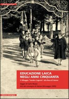 Equilibrifestival.it Educazione laica negli anni Cinquanta. Il villaggio «Sandro Cagnola» alla Rasa di Varese Image
