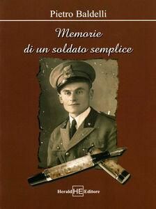 Memorie di un soldato semplice